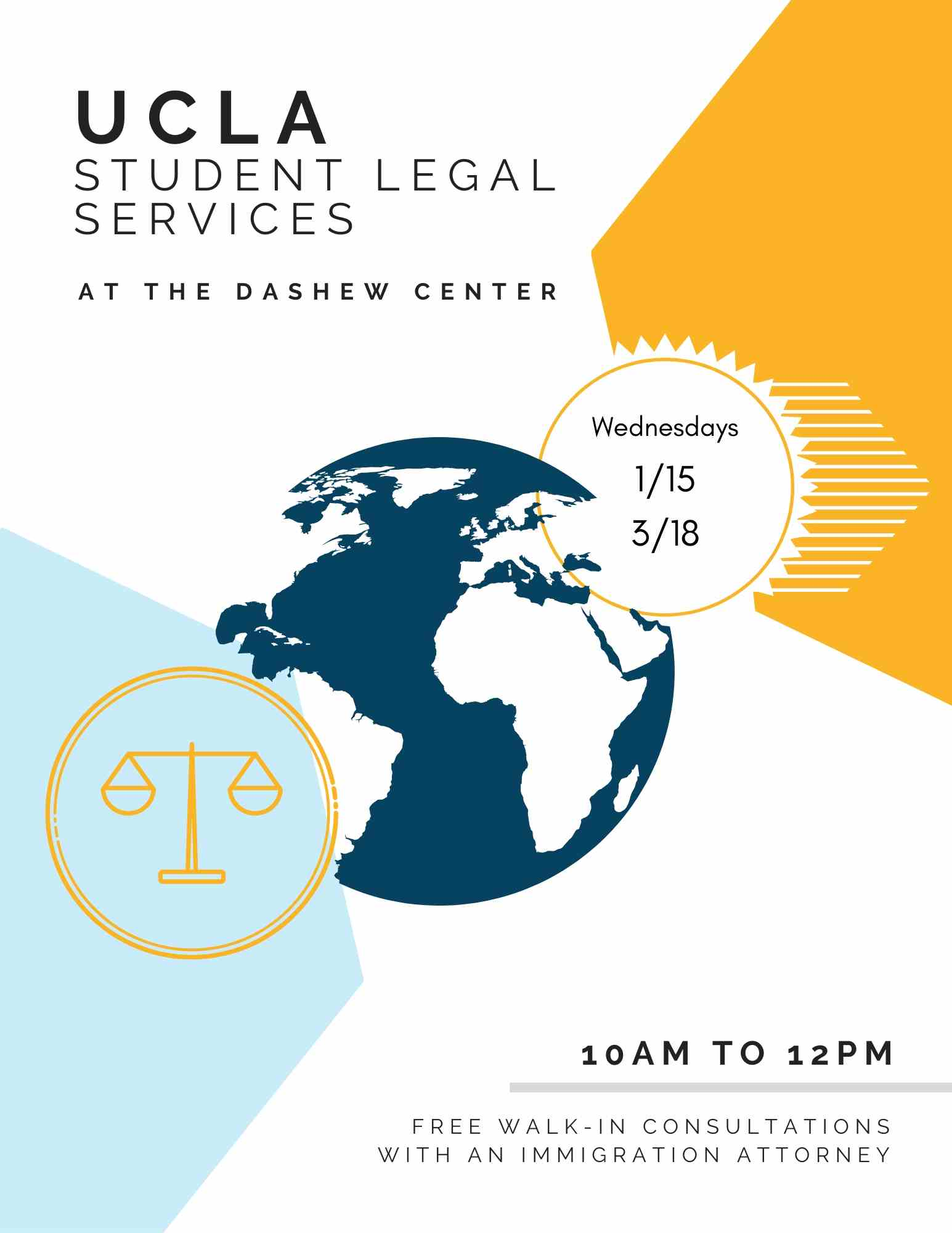 Student Legal Services at Dashew (4) flyer