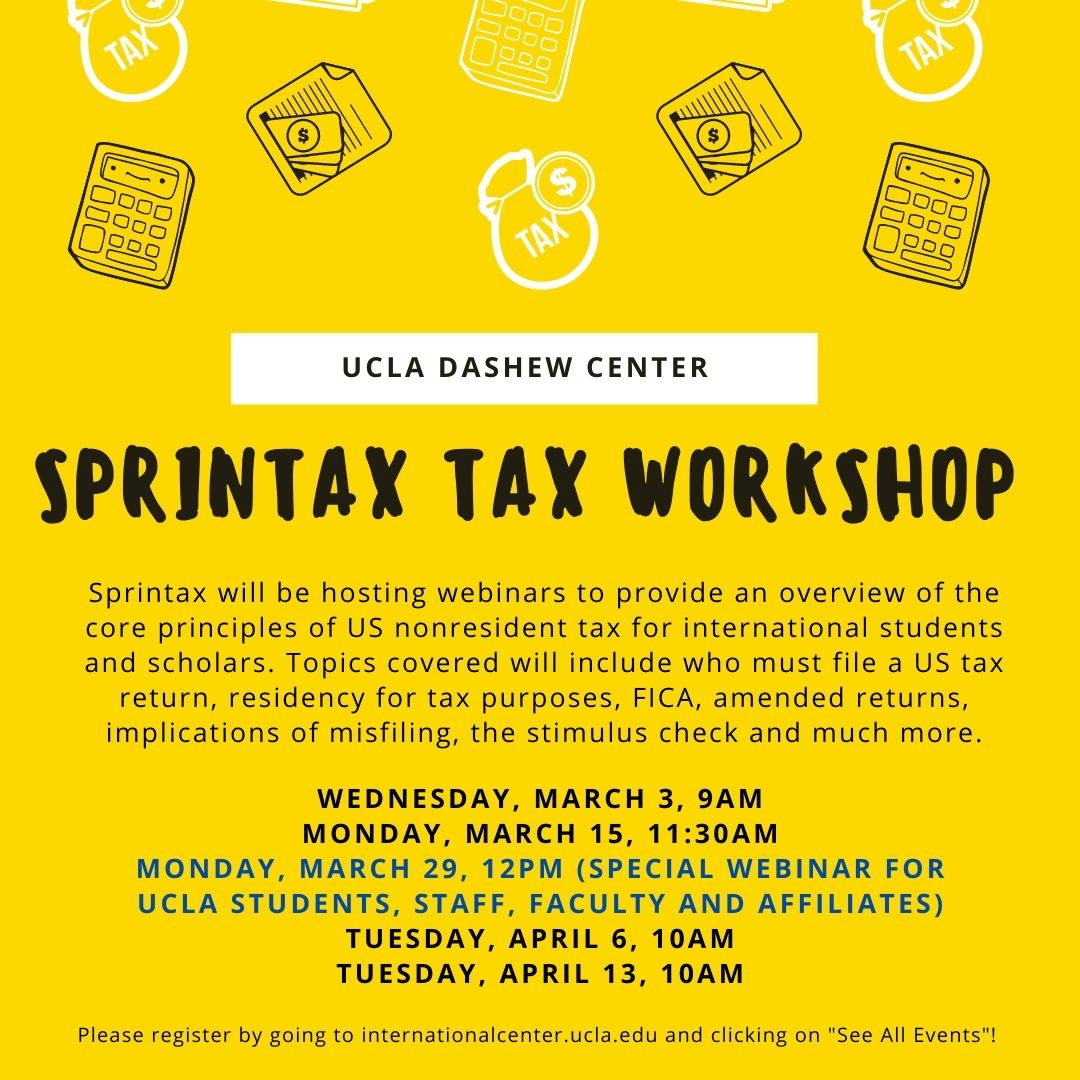 2021 Tax Workshops (2) flyer